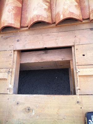 Ouverture du toit
