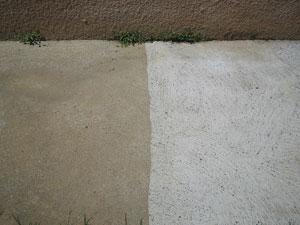 Traitement des tuiles - Terrasse avant/après